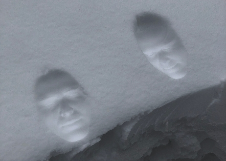 HeK; Lauren Huret, Frozen facial features (ice memory), 2018, video still, 1 minute loop