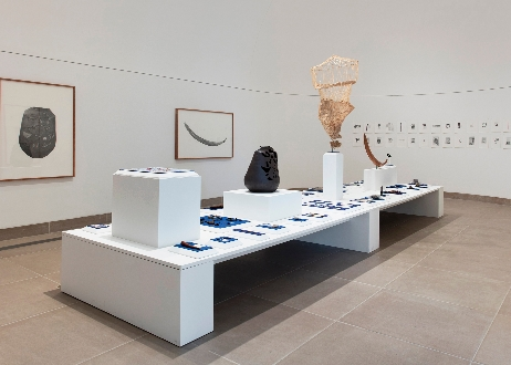 Labor; Gala Porras-Kim, Installation view of Made in L.A. 2016: a, the, though, only, 2016, Hammer Museum, Los Angeles, Photo by: Brian Forrest, images courtesy of the artist and the gallery